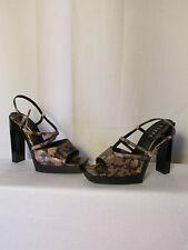 escarpins GUESS cuir imitation reptile 37