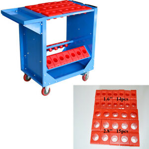 CNC Tool Cart Tool Trolley Cart Toolscoot Super 29 Taper Tool Holders