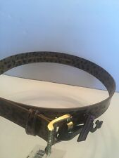 Betsey Johnson  Leopard Belt with Gold Buckle Women's Size M Brand New