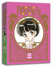 Ranma 1/2 Set 3 Special limited Edition (Blu-ray 3-Disc Set) dvd RARE OOP