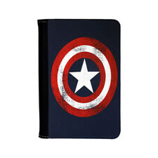 Captain America Comics Marvel Universe Superheroes Avengers Passport Holder Case