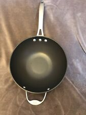"Calphalon Anodized Aluminum Cookware Toledo OH #165 10"" Wok"