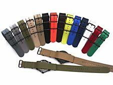 NEW NATO ® X-treme PVD Dense Weave nylon G10 Military Smart watchband strap bond