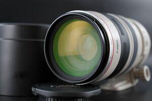 [Mint] CANON ZOOM EF 100-400mm F/4.5-5.6 L IS USM AF Lens w/ Hood