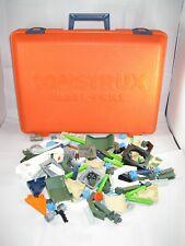 Fisher Price Construx Toys Vintage 1980s Mixed Lot Includes Orange Case 152 pcs!