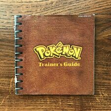 Pokemon Red Version Trainers Guide Nintendo Gameboy Instruction Manual Only