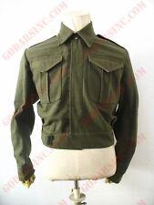 WW2 Canadian Army Infantry Khaki Green Woolen Serge Battle Dress Jacket M