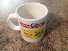 Monopoly Coffee Mug Community Chest Wine Things Unlimited Hasbro