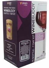 WINEBUDDY Cabernet Sauvignon 30 Bottle Home Brew Red Wine Kit Young's 7 Day