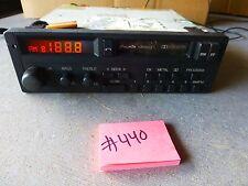 AUDI Quattro GT Coupe 1984 OEM Blaupunkt Cassette Radio AM/FM  for parts   #440