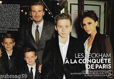 Coupure de Presse Clipping 2013 (8 pages) La Famille Beckham