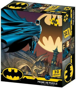 Batman Signal 3D Jigsaw Puzzle DC Comics 24 Inch by 18 Inch 300 Piece NEW