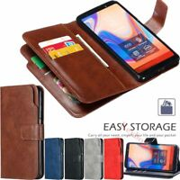 For Xiaomi Redmi Note 10 9T 9s 7 8 9 Pro Wallet Card Holder Leather Case Cover