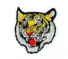 Patch patches embroidered iron on backpack biker tiger biker motorcycle