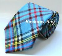 NECK TIE TARTAN ANDERSON MODERN 100% PURE WOOL KILT MADE IN SCOTLAND MENS FORMAL