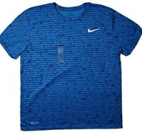 New mens The Nike Tee graphic blue XL shirt