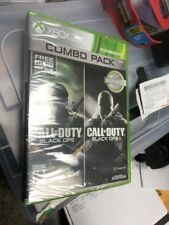 New Call of Duty: Black Ops 1 & 2 I II Xbox 360 Compatible With Xbox One Combo