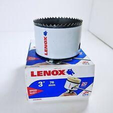 """LENOX 3"""" (76mm) 48L 3004848L Bi-Metal Speed Slot Hole Saw Drill Bit T2 - NEW NOS"""