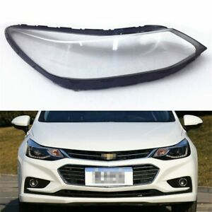 For Chevrolet Cruze 2017 2018 Car Headlight Headlamp Clear Lens Auto Shell Cover