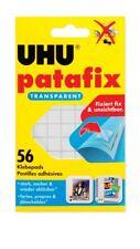 UHU Patafix Klebepads 56 Stück transparent stark, sauber & wieder ablösbar 48815
