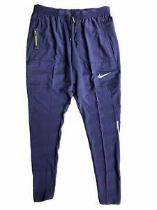Nike Dry Phantom Elite Hybrid Running Pants Men Size L Purple BV4813 521