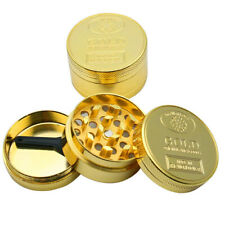 4 Layers Weed Herb Tobacco Crusher Professional Gold HerbGrinder