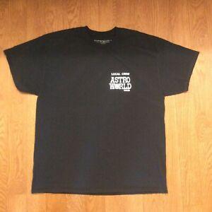 Travis Scott ASTROWORLD Wish You Were Here Tour Local Crew T-Shirt Size XL
