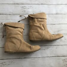 Aldo Belinna-44 Tall Boots Womens Khaki//Teal Size 8.5