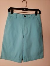 Wonder Nations Boys Flat Front Shorts Size 14 Light Blue New with Tags