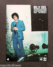 R480 - Advertising Pubblicità -1979- BILLY JOEL , 52ndSTREET