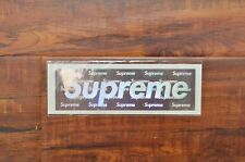 Brand New Supreme New York 2015 3D Holographic Box Logo Sticker Hologram Holo DS