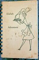 EASTERN OF THE STAR NEW YORK VINTAGE SPIRAL COOKBOOK 1960's?  LOCAL RECIPES