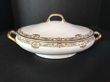 Bernardaud & Co Limoges France Covered Serving Dish Bowl Casserole B & C