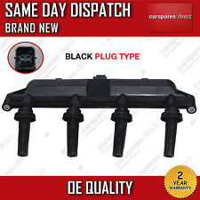 PEUGEOT 206 1.1/1.4/1.6 1998>ON IGNITION COIL PACK BLACK PLUG 2526208A *NEW*