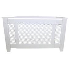 Cache Radiateur Ajustable en MDF Blanc de 140cm à 192cm de Large