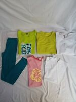 LOT de 6 vêtements fille 14ans legging tee shirt Orchestra