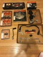 Assortment Of Harley Davidson Parts Lot- Chrome parts/ Softail Dyna Glide/ L@@K!