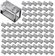 ☀️New! Lego Lot of 100x TRANS CLEAR 1x2 Bricks Parts Pieces Legos Part #3065