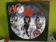 SLAYER LIVE UNDEAD BLOOD SPLATTERED PICTURE DISC RECORD