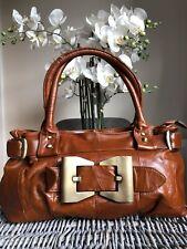 Vera Pelle Genuine Leather vintage inspired shoulder bag/ handbag