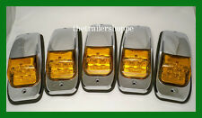 Kenworth Peterbilt Roof Cab Marker Light LED - Set of 5