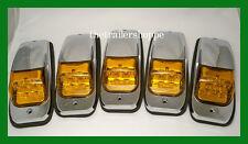 5 Kenworth Peterbilt Roof Cab Marker Light LED