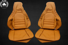 Seat Covers Fits Porsche 911 Year 1985-1994 Camel Dattel New