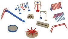Faller OO/HO Gauge Playground Equipment Swing Slide Etc. Plastic Detail Set 1805