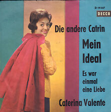 "CATERINA VALENTE ‎– Die Andere Catrin (1962 VINYL SINGLE 7"" 45 GERMANY)"