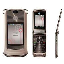 "Original Motorola RAZR2 V9 Rose Gold 2.2"" 3G 2GB 2MP Unlocked Flip Mobile Phone"