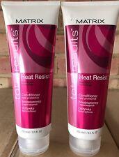 2 Pack Matrix Total Results Heat Resist Conditioner 250ml