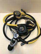 Oceanic Regulator Set - Cdx5 Dvt, Alpha 9, Alpha 8, Gauge, Compass, Veo 1.0 Used