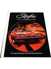 1975 Oldsmobile Starfire -  Vintage Advertisement Car Print Ad J414