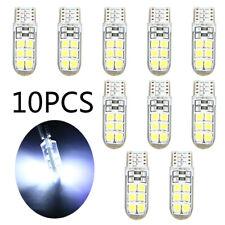 10pcs Car White 2835 LED 6000K Canbus Error Free Light Bulb Lamp 12SMD Set Parts